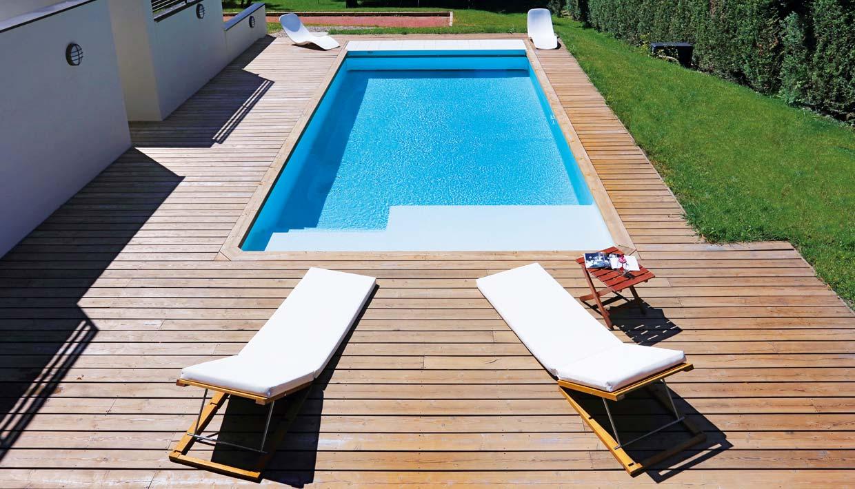 Pool Aachen im Garten