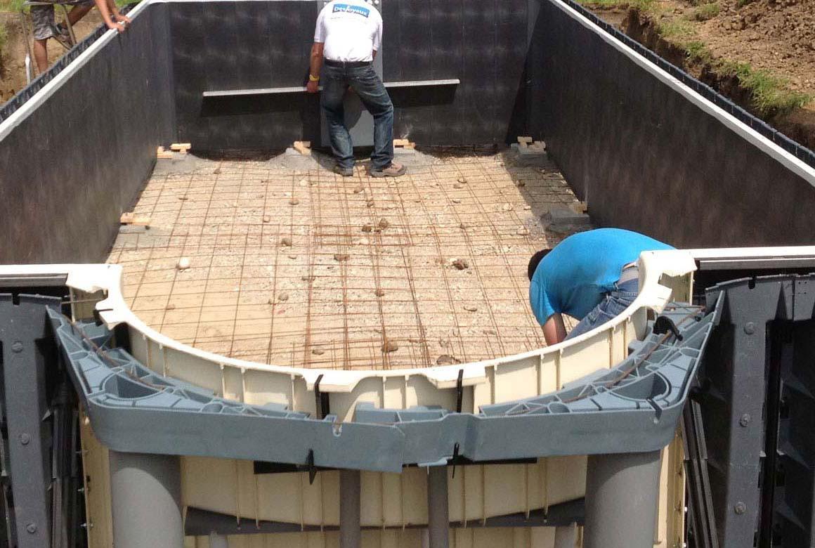 Poolsystem wird montiert Aachen