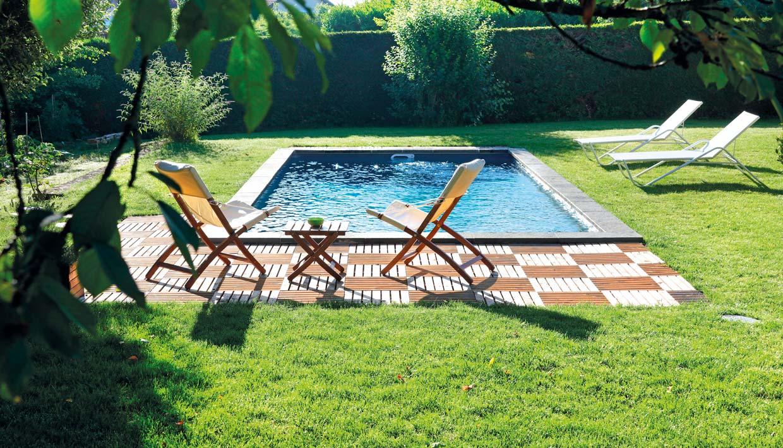 Swimmingpool Aachen -Urlaub daheim